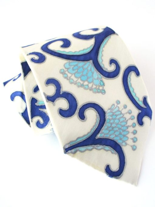 Bone China Necktie- Hand Painted