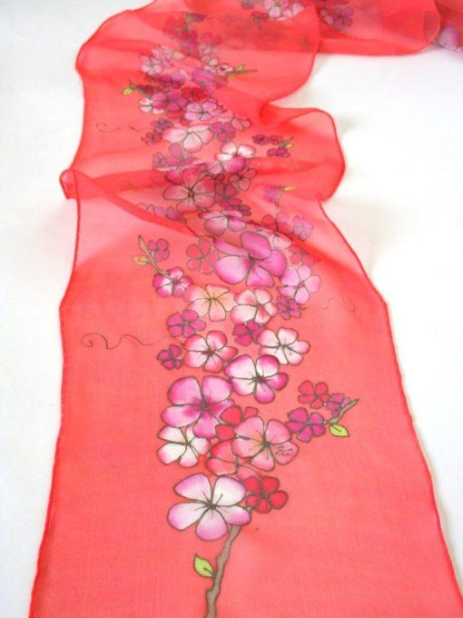 coral cherry blossom