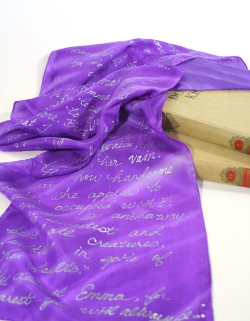 Emma Book Scarf Giveaway
