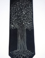 Navy Tree Tie