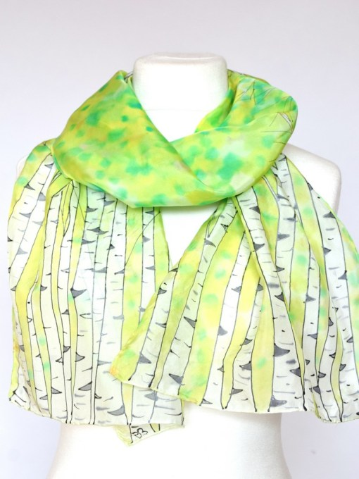 Green Birch Scarf