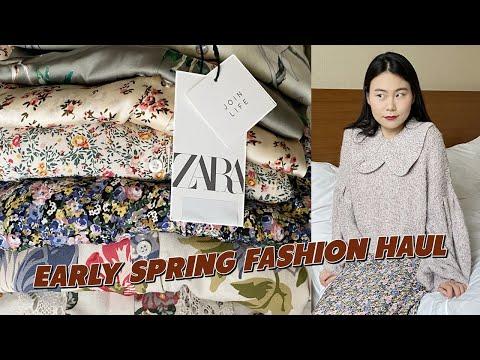 ZARA Zara Sale Howl, Blouse, Long Dress, Floral Skirt, Nitro, Preparing for Spring 👗 [Dindi Fashion Howl]