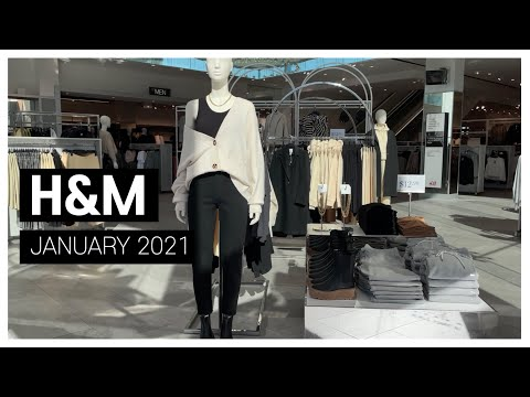 H&M January Shinsang_ I went to the store for a refreshment!     H&M JANUARY NEW IN 2021