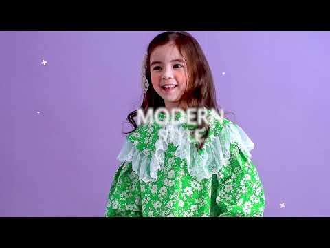 Pre-Meet Spring One Piece Secret Look Children Kids Boys Girls 'New Spring Lookbook Winter Kids Fashion Look Book