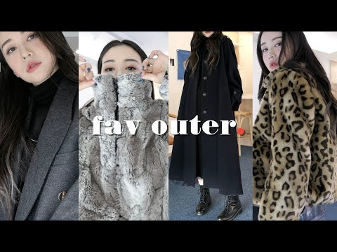 〰️Introduction of 7 favorite outers / Try on with one basic black dress ☺︎