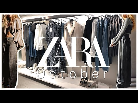 [ENG SUB] More than 50 kinds of new images for October by American Zara |  ZARA OCTOBER NEW IN 50 ITEMS |  Zara coat, Zara dress, Zara shoes, Zara bag, etc.