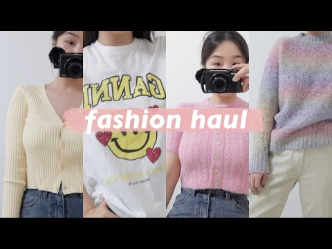 [My money-nae-san fashion howl you will regret if you don't see it] Stop winter clothes, I want to buy spring clothes    Colorful spring fashion 2021    Tall girl fashion    Habibi Lisa    FASHION HAUL & OUTFITS  