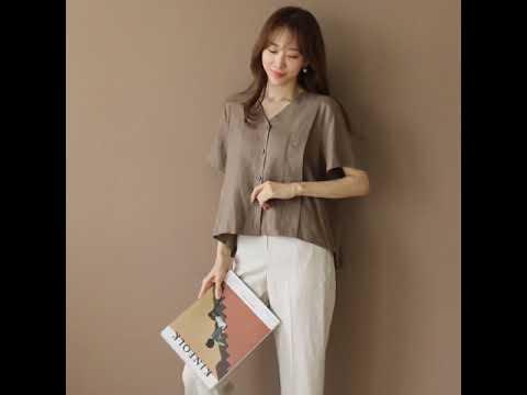 About Some Summer Popular New _Backpleats Linen Dress