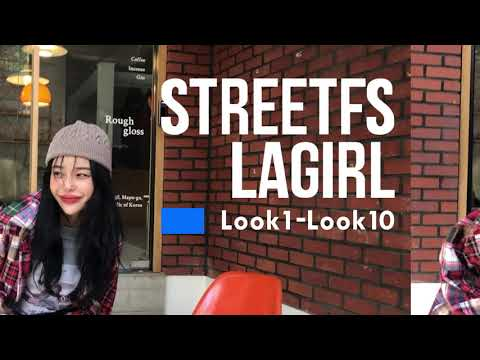 [La Girl TV] February 2021 La Girl lookbook new filming video