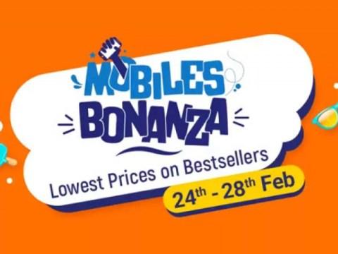 Flipkart Mobiles Bonanza, 2021 년 2 월 제공 : Realme 스마트 폰 할인 제공