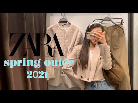 I tried 2021 ZARA S/S jacket restaurant 🌼!  This spring, 7 kinds of Zara trend outerwear, jacket & cardigan trend, spring outfit, zara spring fashion, Zara look book, Zara Shin Sang-howl