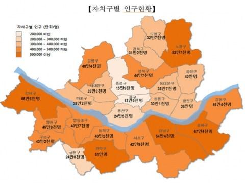 Pertama sejak 1988 …  991 juta, kurang dari 10 juta orang di Seoul