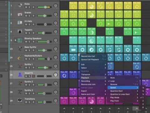 Logic Pros Live Loops Launchpad Diary: ประสิทธิภาพการออกแบบเสียงและองค์ประกอบ