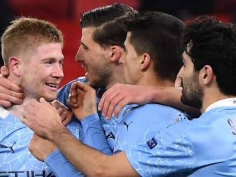 맨시티 2-0 보루시아 묀헨 글 라트 바흐 (4-0 agg) : 챔피언스 리그에서 펩 과르디올라의 사이드 진출