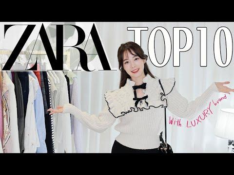 ZARA Zara Shinsang Howl🛍ลองของหรูกับ Chanel, Hermes, Dior, Fendi, Mac Powder Kiss [SUB]