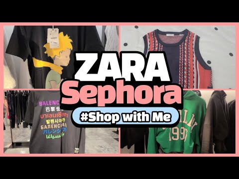Come Shop With Me ZARA Feb 2021 /身の上紹介/セール情報/育っにEQUIPMENT VESTがあるなんて/ Sephora