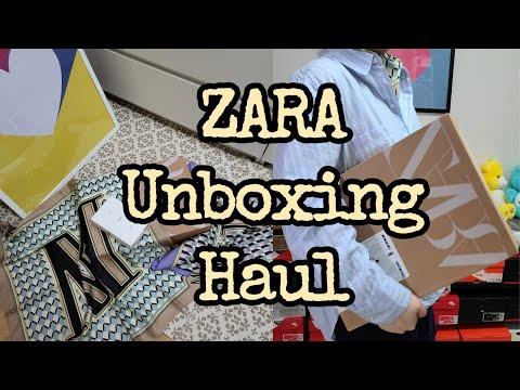 ZARA HAUL / Zara Haul _ Я привезла всю весну новые Zara и Salem Baribari.  Муйахо ~ !!!  (Духи Zarajo Malone, трикотаж лучше всего, сумка, шарф с инициалами, юбка, платье, брюки-бермуды)
