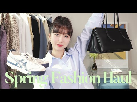 (cc) 1.5 million won for Spring Fashion Howl 🧚🏻♀️ Hip or lovely Spring Fashion Haul 2021 |  Minjeong Park