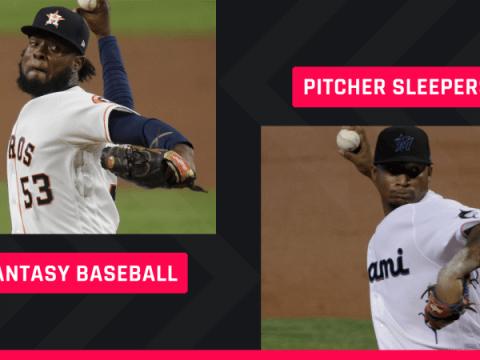 Fantasy Baseball SP Sleepers : 브레이크 아웃 투수, 레이트 라운드 스틸