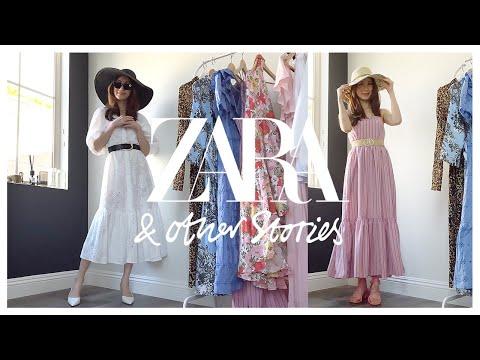 [Вой весеннего платья] Zara & Other Stories Примерят 6 весенних платьев Yong ~    ZARA & OTHER STORIES 6 ПЛАТЬЕВ ПОПРОБУЙТЕ НА HAUL