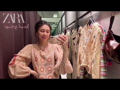 ZARA SS Zara Shinsang Howl2nd🍑/Color✨Detail✨/推荐用于春季和夏季的日常穿着协调/时尚how / ZARA 2021时尚拖拉