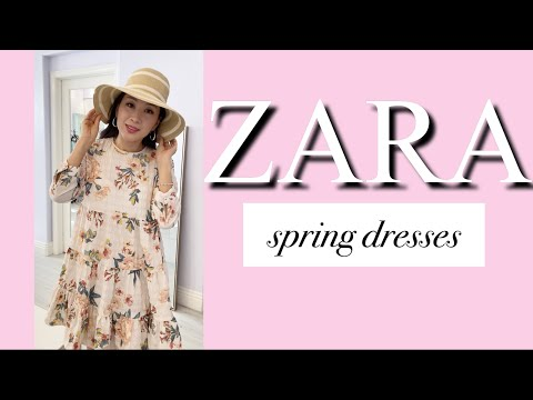 [SUB] Весеннее платье Zara / Весеннее платье ZARA 2021 / Платье Zara Haul / Платье Zara Haul