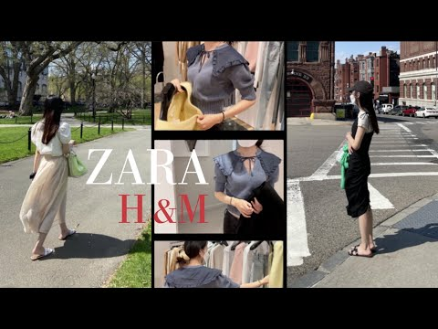 End of month settlement    April's Zara & Echen-M    Liaselena Pick 👗   What to buy and what to keep    Zara, H&M recommended items    ZARA h&m HAUL