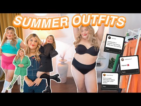 ☀️ SUMMER OUTFITS ft. your theme SUGGESTIONS! *plus size summer  lookbook 2021*