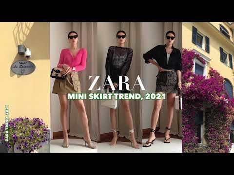 [ZARA] Zara 2021 Milan Travel Fashion Vol。3,EDGE。 推荐用于春季新款上-/迷你裙/针织/轰炸风格