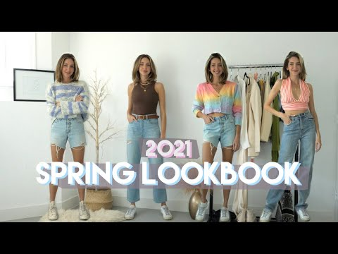 SPRING LOOKBOOK 2021   casual spring outfits
