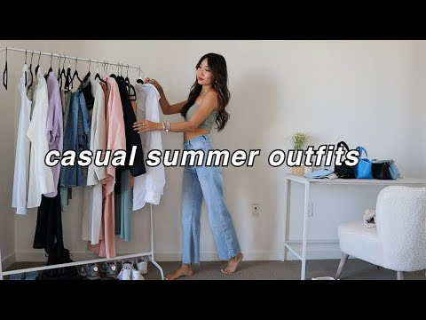 CASUAL SUMMER OUTFITS ☀️ | summer fashion lookbook 2021