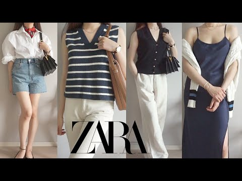 Zarahowl    We will inform you in advance of recommending/not recommending new summer items 💚 Summer scarf appeared❣ Bermuda shorts, denim, shirt, knit vest, one piece ZARA 2021 S/S HAUL