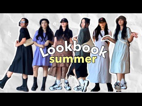 Летний лукбук 2021 • сплошное платье 🌞💓 |  Филиппины