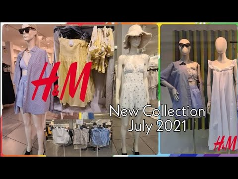H&M WOMEN'S COLLECTION JULY 2021    H&M NEUTRAL COLLECTION 2021