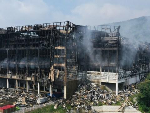 , 'gelombang belasungkawa' atas berita kematian petugas pemadam kebakaran di pusat logistik Coupang