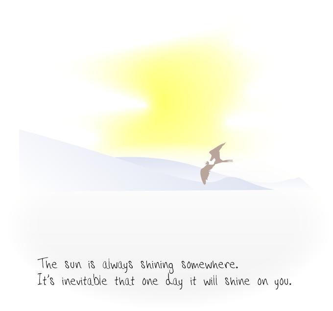 Bird_on_sea