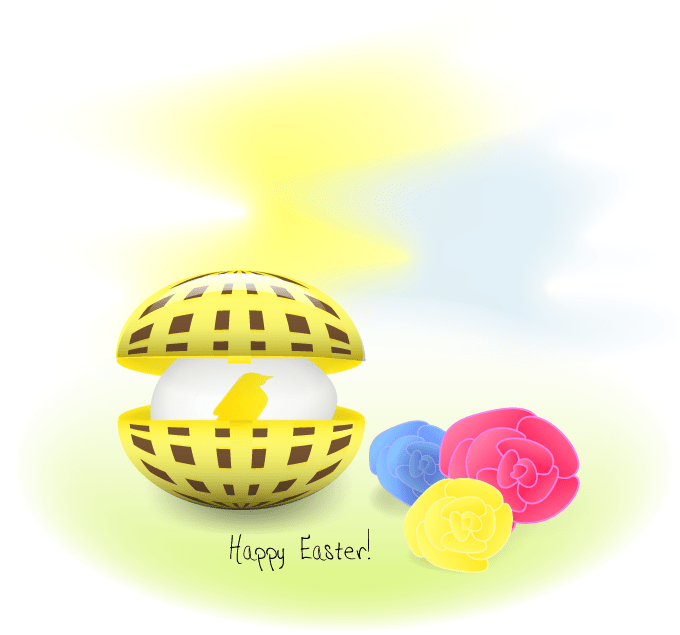 Happy_easter_gold