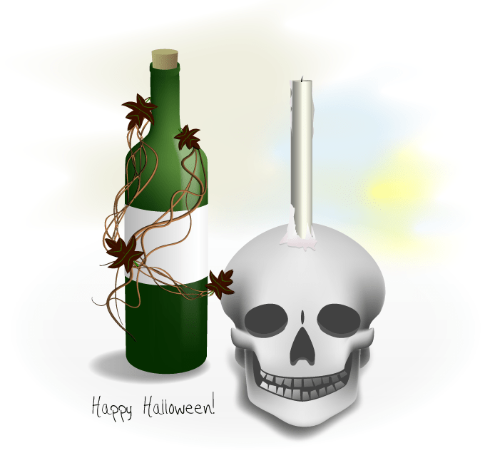 Skulle_and_wine