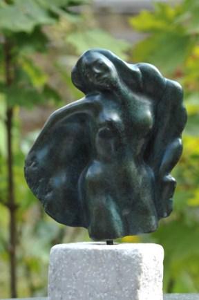 Volupté femme danse - sculpture de Dominique Rivaux