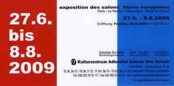 BERLIN - Kulturzentrum Adlershof Galerie Alte Shcule