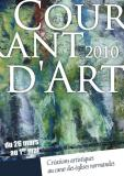 Courant d'Art 2010 - Dominique Rivaux - Eglises Normandes