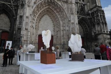 Sculpture - Cathédrale de Troyes - Dominique Rivaux