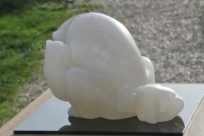 Sculpture Ours - ourse - ourson - maternité - mammifère