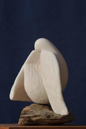 colombe - oiseau symbolisant la paix - sculpture