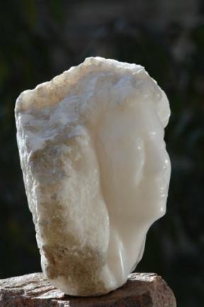 visage mythologique de la femme - vent éole