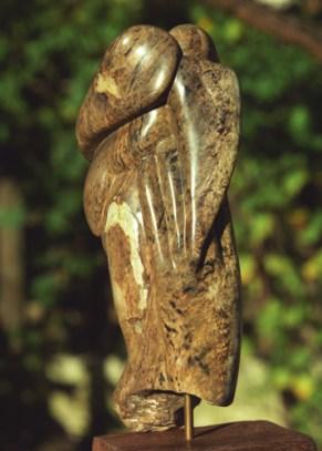 tête homme - Christ - main - oiseau