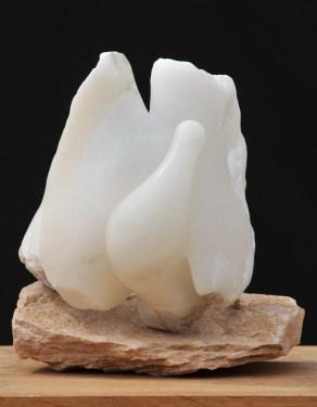 De Bon Matin - colombe - la paix - sculpture de Dominique Rivaux