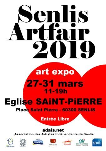 Affiche - Senlis - Artfair 2019