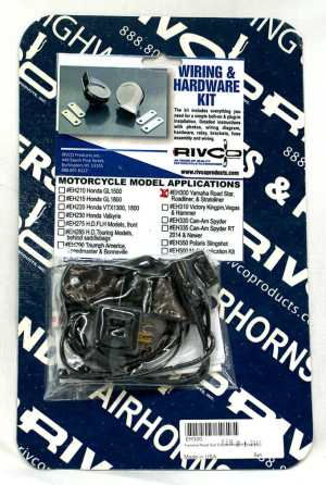 EH300 – Electric horn wiring kit for Yamaha Road Star