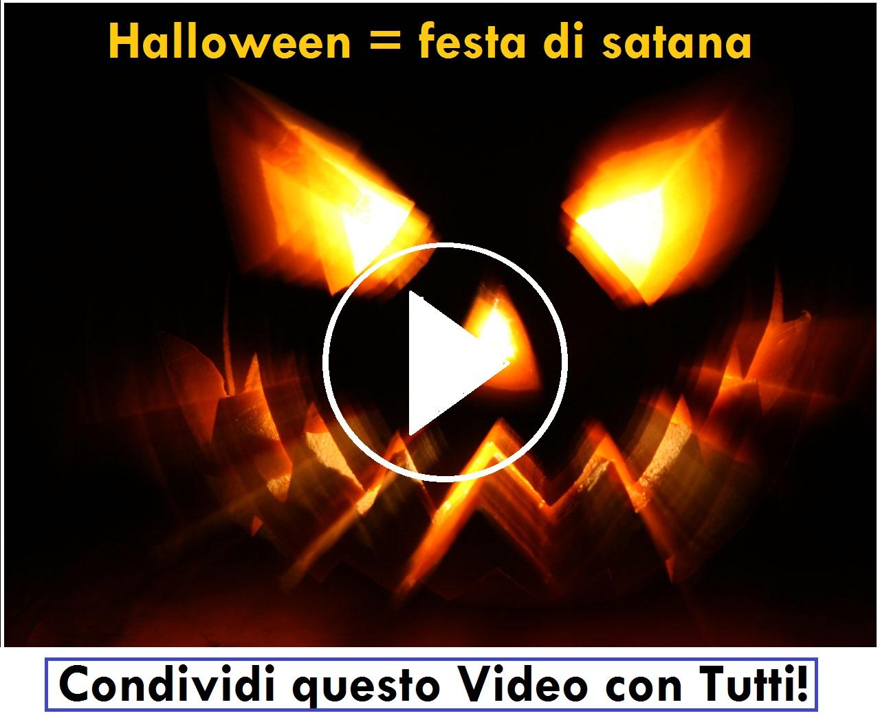 Ecco perchè chi festeggia Halloween attira su di se satana!